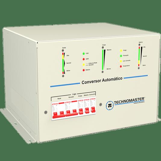CONVERSOR MOTORHOME AUTOMATICO TECHNOMASTER 110/220V-12V 4.0 KVA