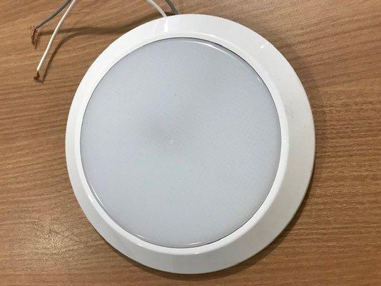 LUMINARIA CIRCULAR LED 12/24 V BRANCO