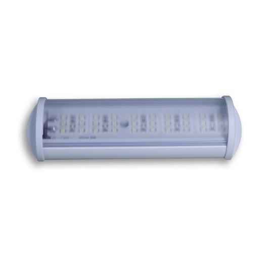 LUMINARIA LED 30 LEDS 12V BRANCO QUENTE 160MM