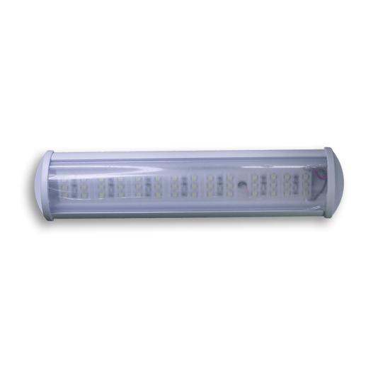 LUMINARIA LED 42 LEDS 12V BRANCO QUENTE 220MM