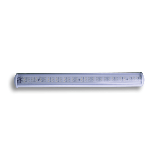LUMINARIA LED 90 LEDS 12V BRANCO QUENTE 450MM