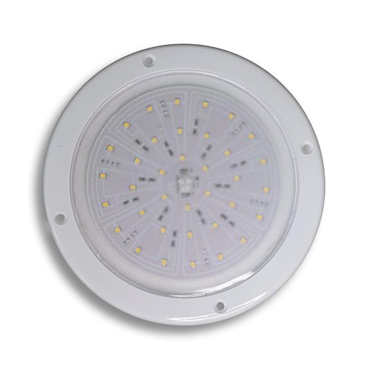 LUMINARIA LED ARKLIN PLAFON 36 LEDS12V 4000K - BRANCO QUENTE