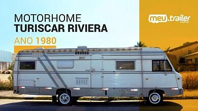 MOTORHOME MERCEDEZ 608 TURISCAR RIVIERA 1980